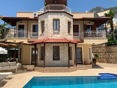 Photo for Charming 3/4 bedroomed Villa with private pool and stunning rooftop terrace