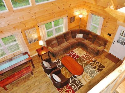 Photo for New* Cabin Clean in-town Black Mountain 15min Asheville 3BR/2BA Montreat Wifi !