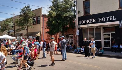 Hooker Hotel - Juke Joint Festival 2015. Our guests have a front row seat