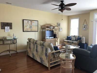 Photo for NEW RENTAL Gorgeous, spacious condo prime location steps from beach ocean views!