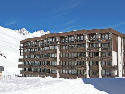 Photo for Apartment 611 m from the center of Tignes with Lift, Internet, Balcony (111405)