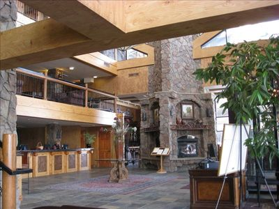 Beautiful Lobby at The Lodge at Westgate Park City Resort and Spa
