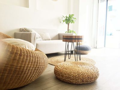 Photo for Ullola Loft, cozy, spacious and bright, with sea view, close to city center