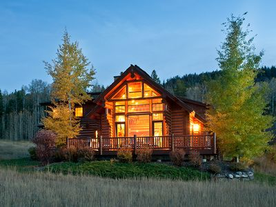 """Photo for USE PROMO CODE """"10 Off"""" - 3 Bedroom Luxury Log Cabin - Close to Jackson Hole!"""