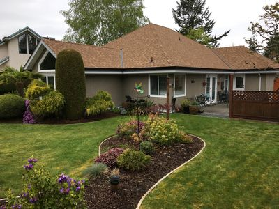 Photo for VACATION GETAWAY, WALKING DISTANCE TO BEAUTIFUL SANDY QUALICUM BEACH