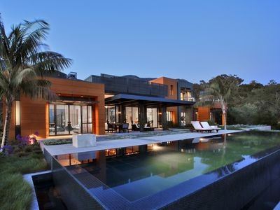 Photo for Stunning contemporary Montecito estate on foothills in Romero Canyon