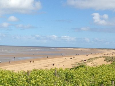 Old Hunstanton Beach 10 min walk