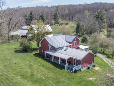 Photo for Historic luxury farmhouse adjacent to George Washington National Forest