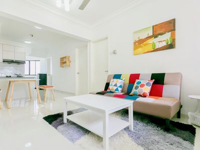 Photo for 3BR Apartment Vacation Rental in Jelutong, Pulau Pinang