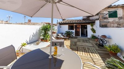 Photo for Casa Mariana - Refurbished Old Mallorcan House with a Charming Terrace in Pollensa ! - Free WiFi