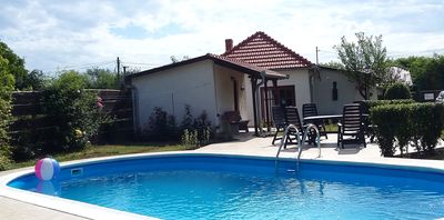 Photo for child-friendly holiday home with private pool - 6 people