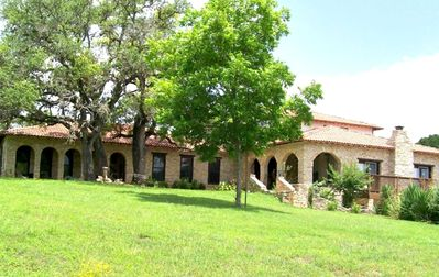Photo for 5,000 Sq. Ft. Mediterranean Villa on 10 Beautiful Acres
