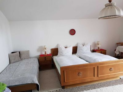 Photo for Double room for 3 persons - Haus Berger