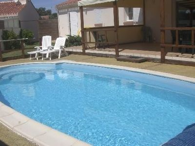 Photo for Villa 3 * Les Sables D'Olonne with Heated Pool 6 Persons 3 bedrooms