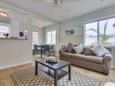 Photo for REMODELED Beach Condo in the HEART of Pacific Beach- Walk to All!