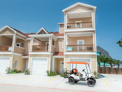 Photo for Shell Time: Free Golf Cart, Heated Pool, Close to the Beach, Pet Friendly