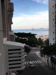 Photo for Large and luxurious apartment in Copacabana in the best location-view of the sea