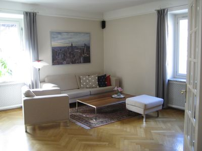 Photo for Big and charming apartment in Central Stockholm.