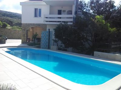 Photo for Apartment in Pag (Pag), capacity 4+0