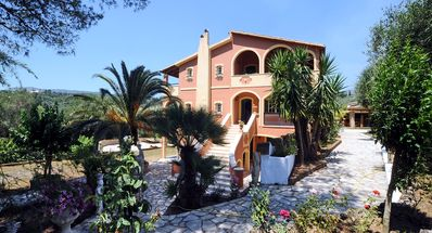 Photo for Private Traditional Corfiot villa surrounded by olive trees