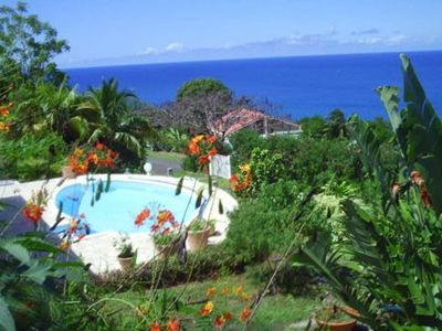 Photo for calm water reserve pool villa facing the sea any comfort clim wifi TV as