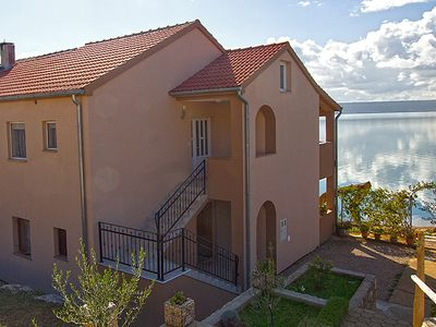 Photo for Apartment Maslenica - on the beach with stunning views of the sea