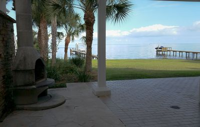 Photo for Escape To An Open Gulf View And Your Own Private Dock!  Elevator to master.