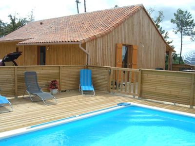 Photo for Country holiday home - Riberac with swimming pool