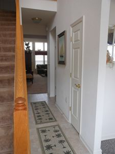 Entry hallway and stairs