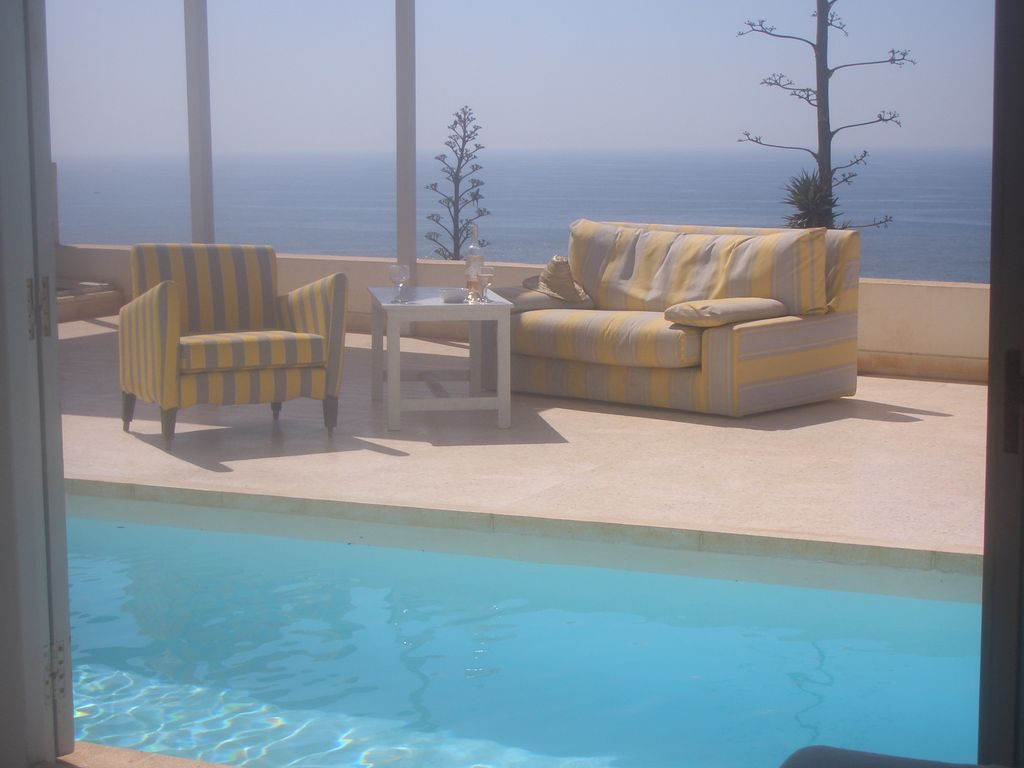 Stunning Seafront Villa With Heated Pool South Of Agadir