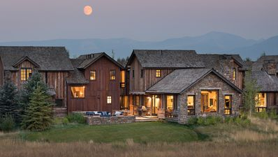Photo for Newly-constructed luxury home with expansive views of the slopes of Jackson Hole Mountain Resort.
