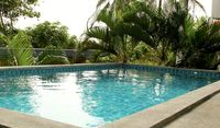 We loved our time here. The view was so lovely, the pool a welcome sight after a hot day of
