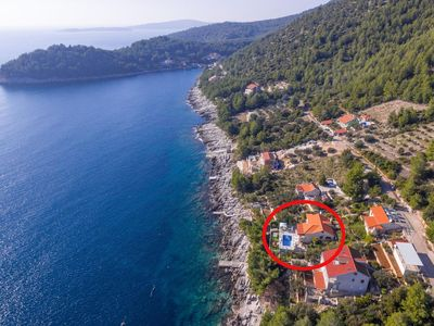 Photo for Seaside family friendly house with a swimming pool Karbuni, Korčula (K-14776)