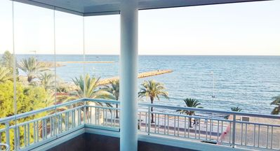 Photo for SPECTACULAR AND SPACIOUS SEA FRONT 150 M2