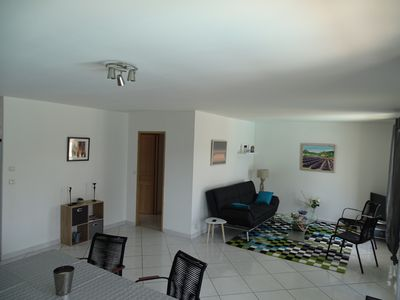 Photo for Comfortable villa in the Hérault village near the beaches