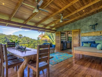 Photo for Stunning Hillside Open Concept, Pool with Ocean View!