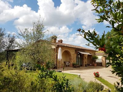 Photo for 2 bedroom Villa, sleeps 4 in Pozzo with Pool, Air Con and WiFi