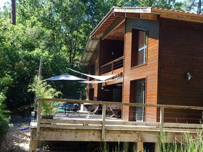 Photo for Pyla Sur Mer: Luxury house in the forest