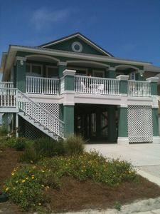 Photo for Delightful 'Southern Shores' Gulfview Beach House