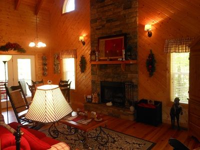 Photo for Just 6 miles from downtown Blairsville.  Pet friendly. Full functional kitchen.