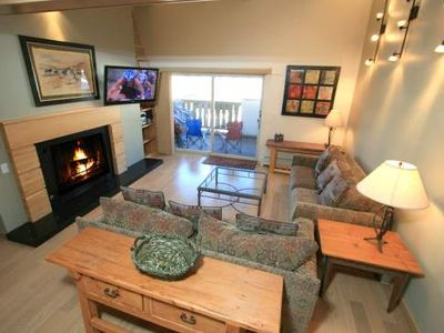 Photo for 9 Vail Road 3-Bedroom  plus  Loft, Outdoor Pool, Hot Tub, Garage Parking