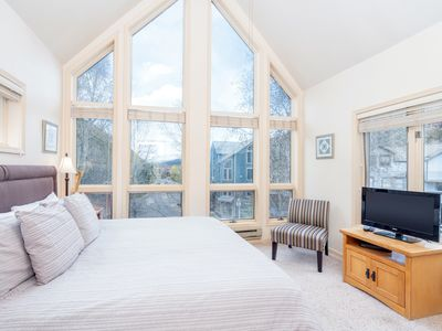Photo for NEW! Top Floor Viking Lodge 308. Private Balcony, Gorgeous Views, Pool, Hot Tub On Site.