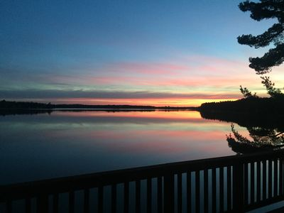 Photo for Large Lake Home on crystal clear lake and incredible panoramic views