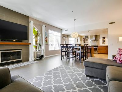 Photo for High-End Beach Townhouse in Quiet Community- Central AC, Garage!