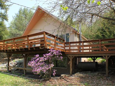 Photo for Nestled Among the Trees, Bright & Sunny 2 Full Baths, 2 Bedrooms W/ WIFI
