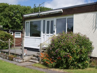 Photo for West facing with patio. Ideal for family holidays. Well equipped.