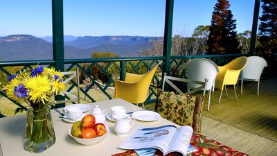 Photo for Blue Mountains Rhapsody-Clifftop Point Blank Views