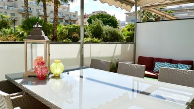 Photo for New! Design & relax: a luxury for your senses! Big chill out terrace, 4 pax