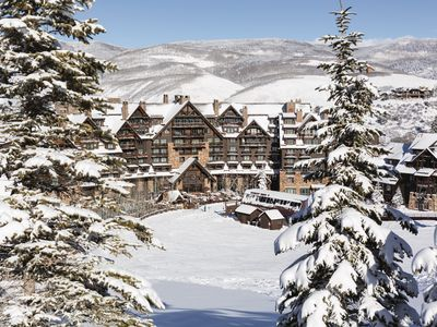 Photo for Ski-In, Ski-Out 3-Bed Penthouse at Ritz Bachelor Gulch | Spring Specials