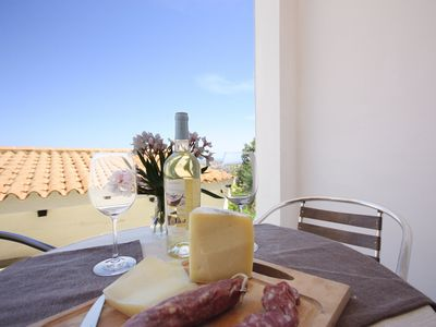 Photo for Apartment with Fantastic View and Terrace, Pets Allowed